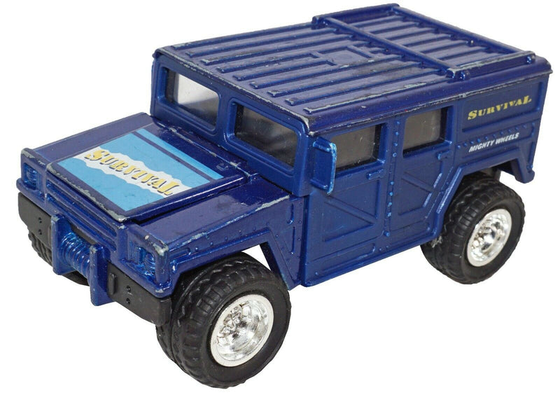 SOMA SURVIVAL HUMMER - MIGHTY WHEELS TRUCK VEHICLE DIECAST TOY 1998 USED - EZ Monster Deals