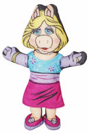 "MISS PIGGY FROM MUPPETS - PLUSH STUFFED 7.25"" TOY BLOCKBUSTER VIDEO 1998 USED - EZ Monster Deals"