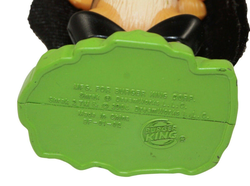 "PUSS IN BOOTS BURGER KING 4.25"" FIGURE - MEAL TOY SHREK 2 DREAMWORKS USED 2004 - EZ Monster Deals"