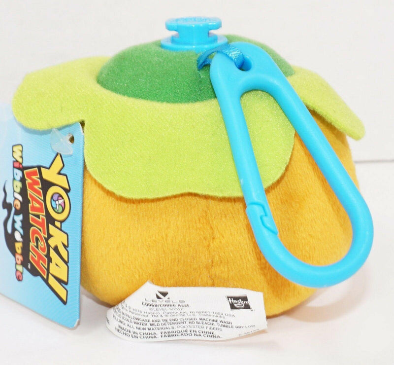 "NOKO YOKAI WATCH WIBBLE WOBBLE 3"" PLUSH TOY & CLIP-ON LATCH + STACKABLE 2016 - EZ Monster Deals"