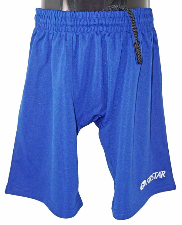 "FIRSTAR YOUTH MEDIUM - LIGHTWEIGHT ROYAL BLUE YM HOCKEY SHORTS 25""-30"" NEW - EZ Monster Deals"