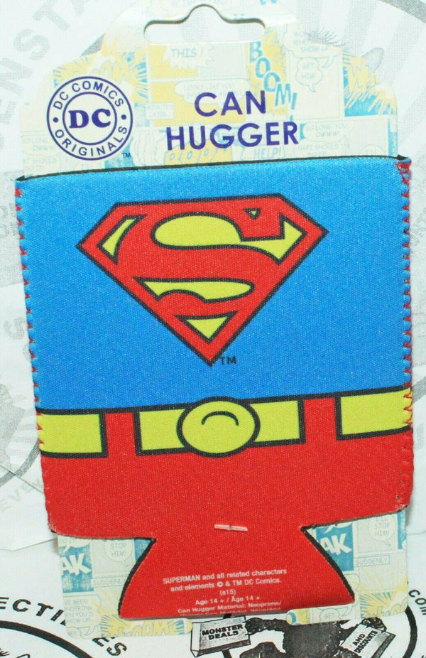 DC COMICS SUPERMAN KOOZIE - NEOPRENE CAN HUGGER HOLDER NEW 2015 - EZ Monster Deals
