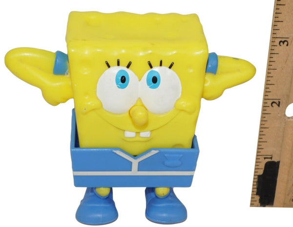 "SPONGEBOB SQUAREPANTS SOCCER MEAL TOY #6 - MCDONALDS 3"" FIGURE 2012 USED - EZ Monster Deals"