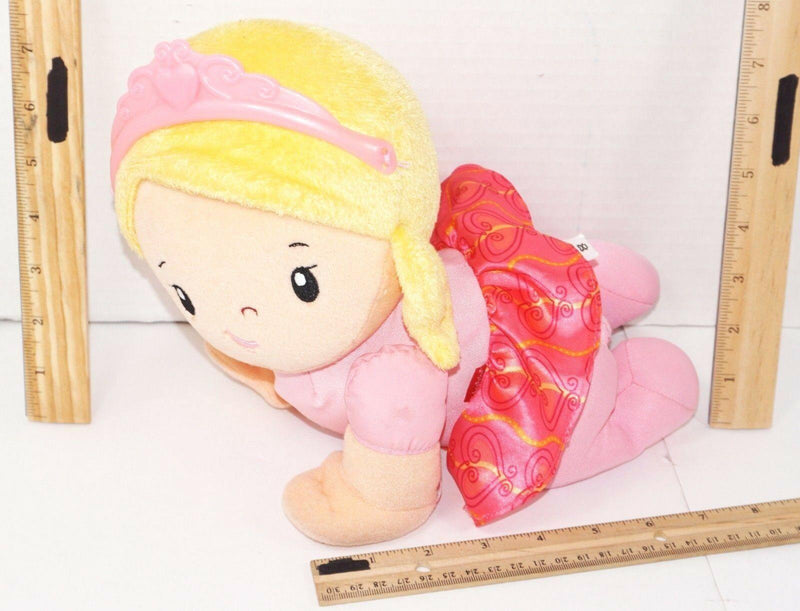 CRAWL PRINCESS DOLL PLUSH TOY BY FISHER-PRICE TOUCH & MUSIC SOUNDS USED 2015 - EZ Monster Deals