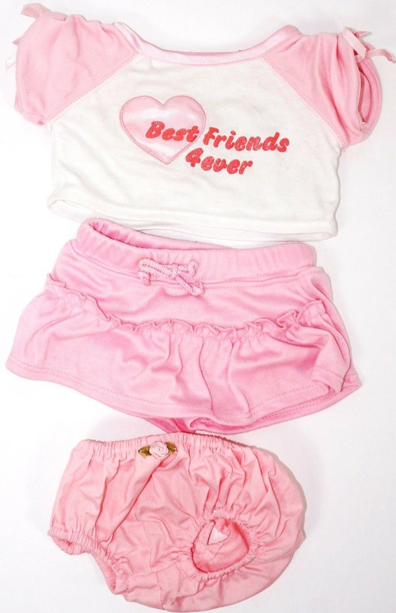 BABW BEST FRIENDS 4 EVER ACCESSORY CLOTHING ITEM - BUILD A BEAR WORKSHOP OUTFIT-EZ Monster Deals