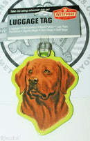 LABRADOR CHOCOLATE PET CO DOG BREED ID TAG FOR LUGGAGE CARRIER GYM BAG ETC NEW - EZ Monster Deals