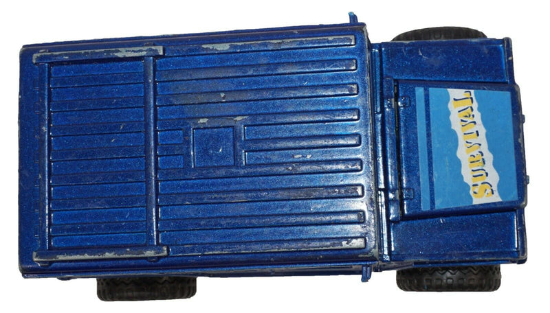 SOMA SURVIVAL HUMMER - MIGHTY WHEELS TRUCK VEHICLE DIECAST TOY 1998 USED