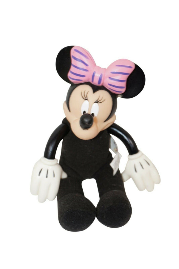 "Vintage Minnie Mouse Plush Toy - Walt Disney World 9"" Figure - No Clothes"