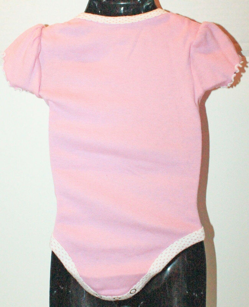 ARIZONA DIAMONDBACKS MLB ONE PIECE BABY SUIT 3-6 MTHS PINK SHORT SLEEVE USED - EZ Monster Deals