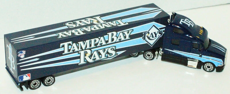 TAMPA BAY RAYS MLB BASEBALL 1:80 DIECAST SEMI TRUCK TRAILER TOY VEHICLE 2009 NEW