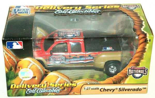 WASHINGTON NATIONALS CHEVY SILVERADO 1:27 DIECAST MLB BASEBALL TOY VEHICLE 2006 - EZ Monster Deals