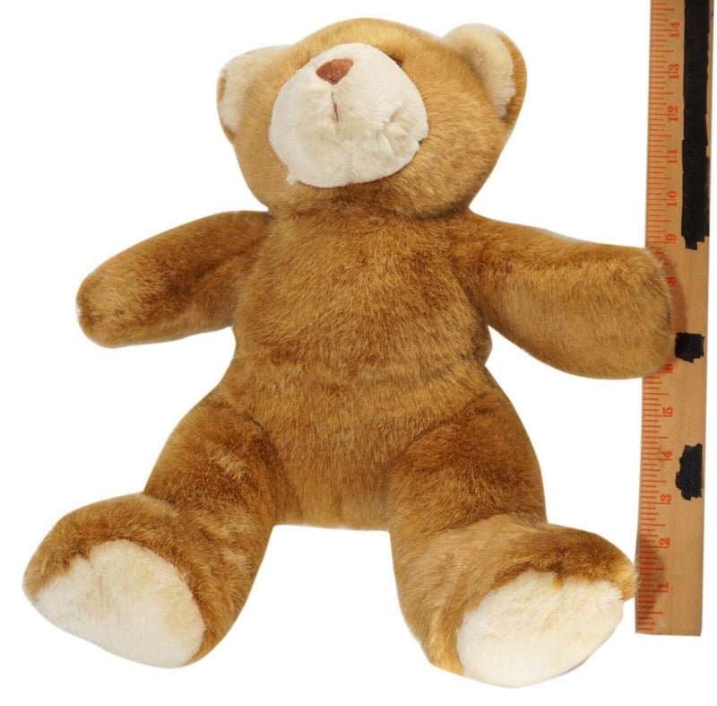 "BABW CLASSIC BROWN BEAR - BUILD-A-BEAR WORKSHOP 14"" PLUSH TOY FIGURE USED 2000s - EZ Monster Deals"