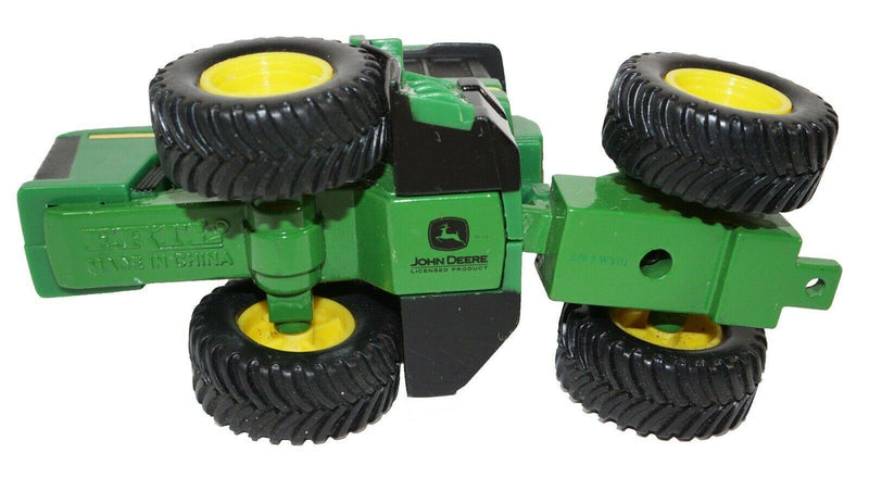 "2 PC LOT - JOHN DEERE FARM TRACTOR BY ERTL DIECAST TOY 3.5"" VEHICLES 1:64 USED - EZ Monster Deals"
