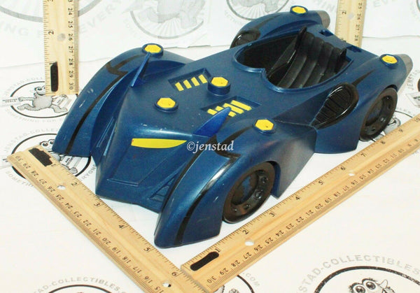 BATMAN THE BRAVE AND THE BOLD BATTLE ARMOR BATMOBILE VEHICLE CAR USED 2009 - EZ Monster Deals