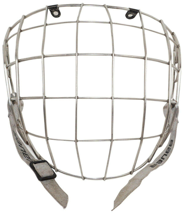 BAUER FACE CAGE SR SMALL FM2500 TRUE VISION II FOR ADULT HOCKEY HELMET USED #2 - EZ Monster Deals