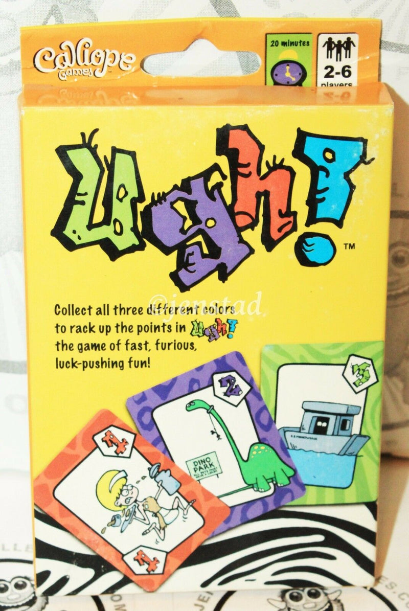 UGH PLAYING CARDS - DOUBLE DOMINO FUN CLASSIC TOY CALLIOPE GAMES 2011 NEW - EZ Monster Deals