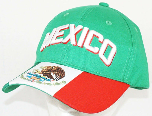 TEAM MEXICO FUTBOL SOCCER ADJUSTABLE GREEN HAT CAP #2 ICON SPORTS FROM FIFA 2018 - EZ Monster Deals