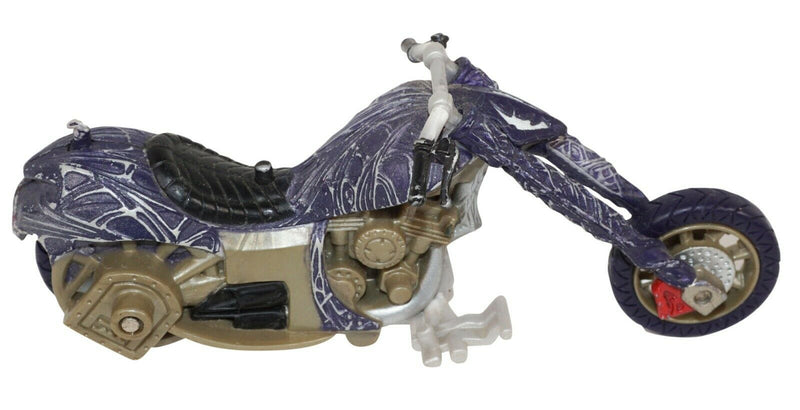 "VENOM MOTORCYCLE LAUNCH 5"" TOY - MARVEL COMICS SYMBIOTE STUNT CYCLE USED 2006 - EZ Monster Deals"