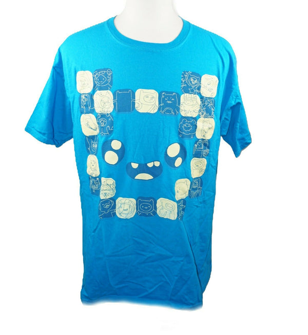 Adventure Time Cartoon Network Loot Crate Shirt - Turquoise Men Tee Large 2019