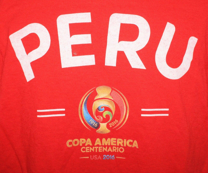 PERU - SOCCER COPA AMERICA CENTENARIO MEN LARGE RED SHIRT OR WOMEN NEW 2016 - EZ Monster Deals