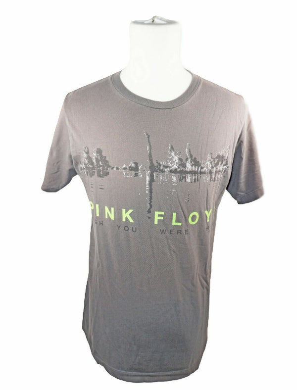 Pink Floyd Rock Band Tee Shirt - Short Sleeve Grey T-shirt Medium