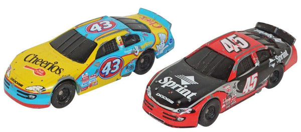 2 PC RICHARD 43 + ADAM 45 PETTY RACING TOY 1:64 DIECAST CAR GENERAL MILLS 2000s - EZ Monster Deals