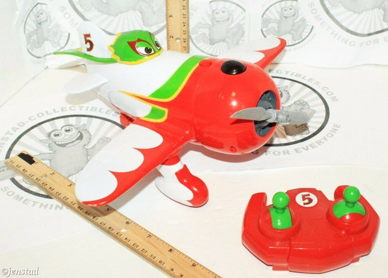 EL CHUPACABRA DISNEY PIXAR PLANES I/R REMOTE BATTERY CONTROL THINKWAY TOYS USED