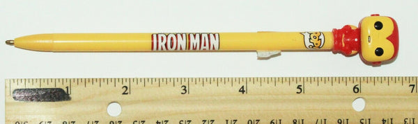 FUNKO IRON MAN MARVEL COMICS WRITING INK PEN 2015 - NO CAP-EZ Monster Deals