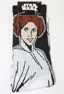 PRINCESS LEIA CREW SOCKS HYP - DISNEY'S STAR WARS 2016 ADULT SHOE SIZE 6-12 NEW