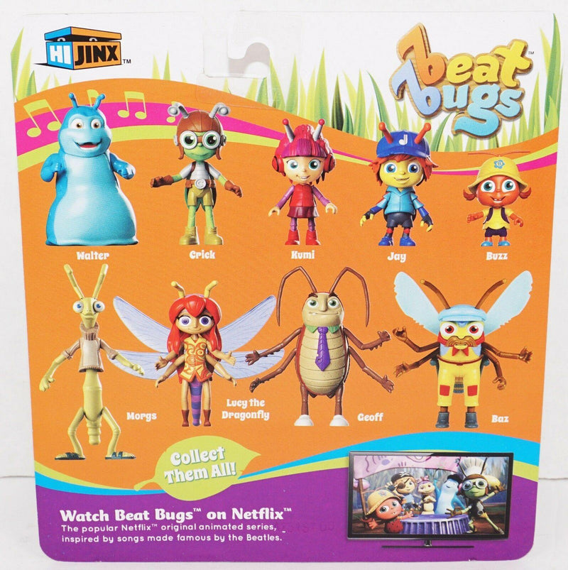 GEOFF BEAT BUGS TOY FIGURE - POSEABLE CHARACTER FROM NETFLIX TV ANIMATED SHOW - EZ Monster Deals