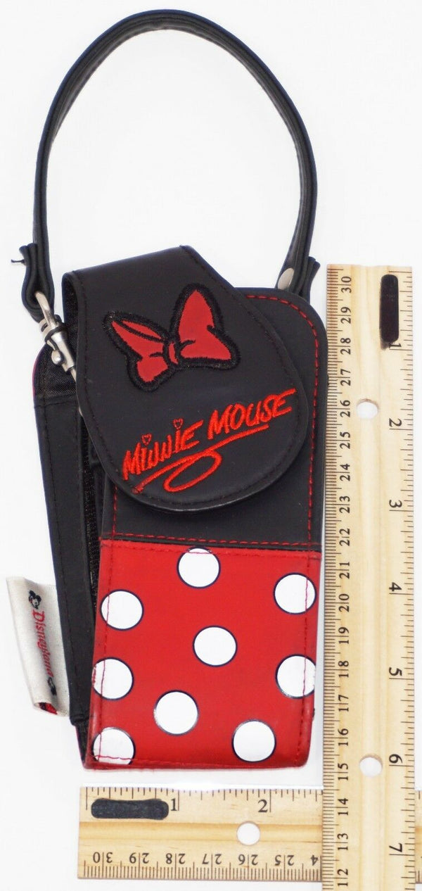 MINNIE MOUSE - OEM DISNEYLAND BOW & POLKA DOTS THEME TRAVEL OR CARRY CASE USED - EZ Monster Deals