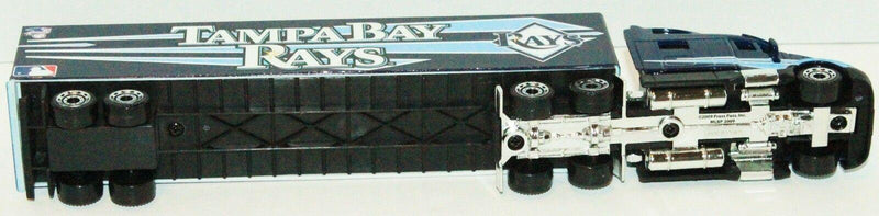 24 PCS - CASE - TAMPA BAY RAYS MLB BASEBALL 1:80 TRAILER TOY DIECAST TRUCK 2009 - EZ Monster Deals
