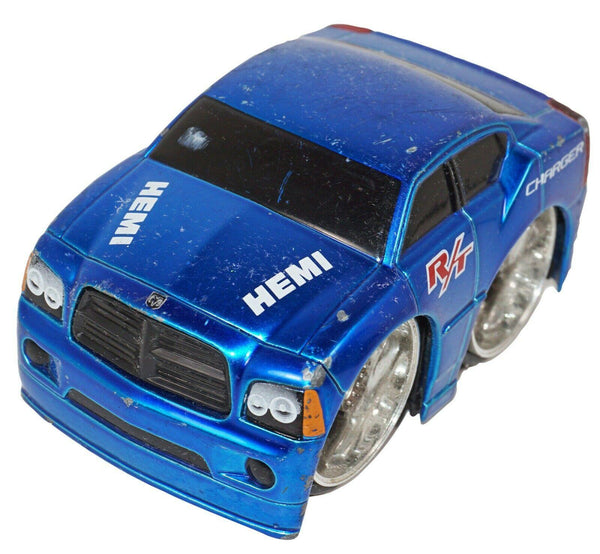 DODGE CHARGER R/T HEMI - JADA TOYS PULL BACK DIECAST COLLECTIBLE CAR USED 2006