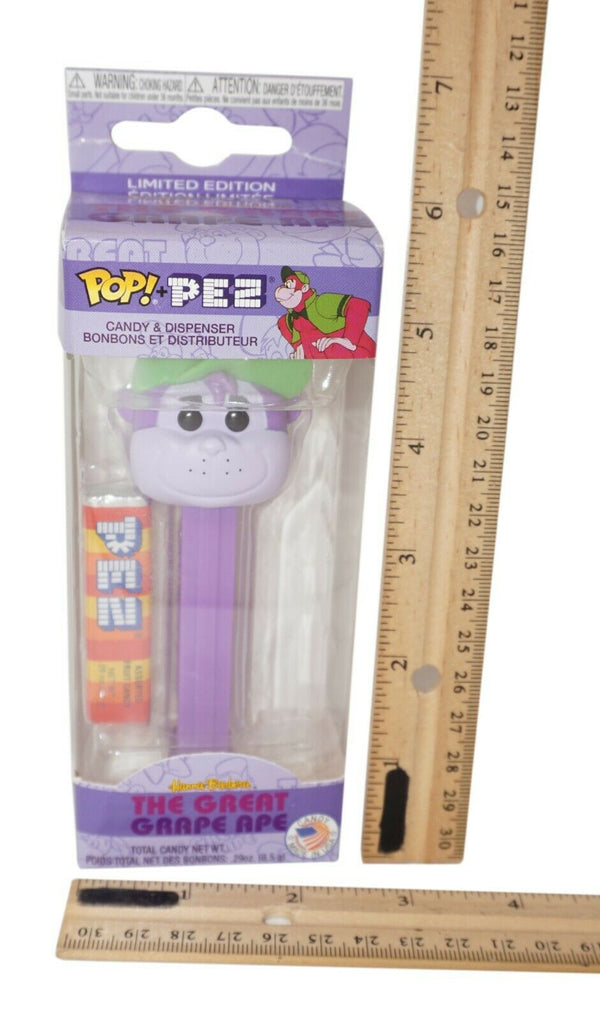 GRAPE APE FUNKO FROM HANNA BARBERA - POP PEZ FIGURE STANDARD ISSUE #32296