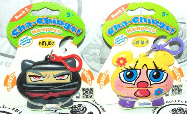 2 LOT - CHA-CHINGS VINYL TOY KEEPERS BUNCH 2 COLLECTIBLES IMPERIAL 2011 NEW