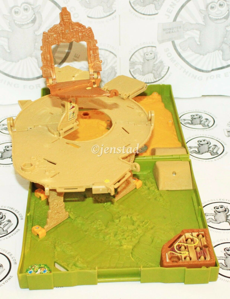 MISSING PIECES - MATCHBOX SNAKE JUNGLE ADVENTURE FOLDING POP-UP CAR PLAYSET 2005-EZ Monster Deals