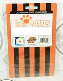 ONE PACK OF 4 DOG PET SOCKS - TEAM PAWS NCAA OKLAHOMA STATE UNIVERSITY SMALL NEW-EZ Monster Deals