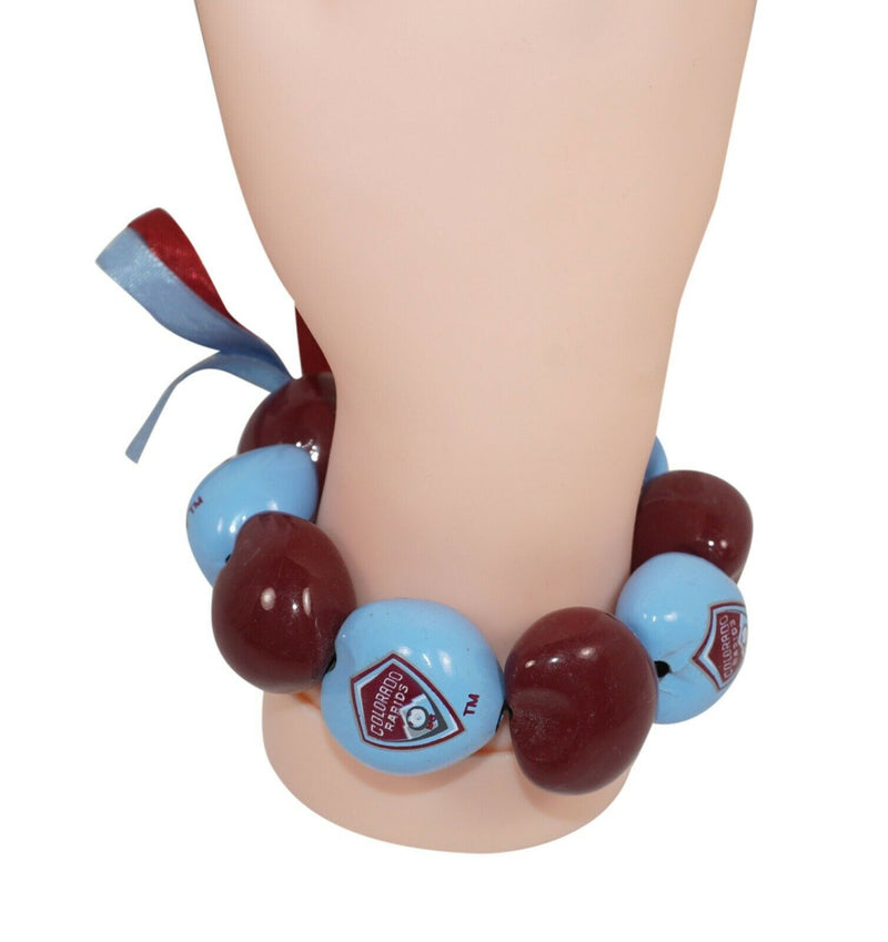 COLORADO RAPIDS FC MLS MULTIPLE KUKUI NUT BRACELET - SOCCER FUTBOL NEW 2011 - EZ Monster Deals