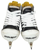 BAUER SUPREME ONE60 YTH GOALIE SKATE - KIDS GOAL YOUTH 13 D ICE HOCKEY USED