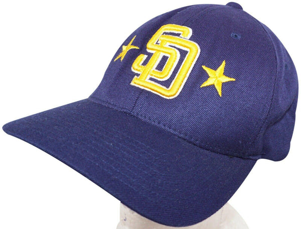 SAN DIMAS SAINTS CALIFORNIA HIGH SCHOOL SD ALL STARS BLUE  VINTAGE HAT 2008 USED - EZ Monster Deals