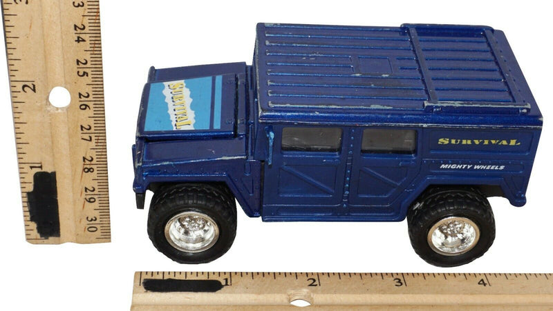 SOMA SURVIVAL HUMMER - MIGHTY WHEELS TRUCK VEHICLE DIECAST TOY 1998 USED-EZ Monster Deals
