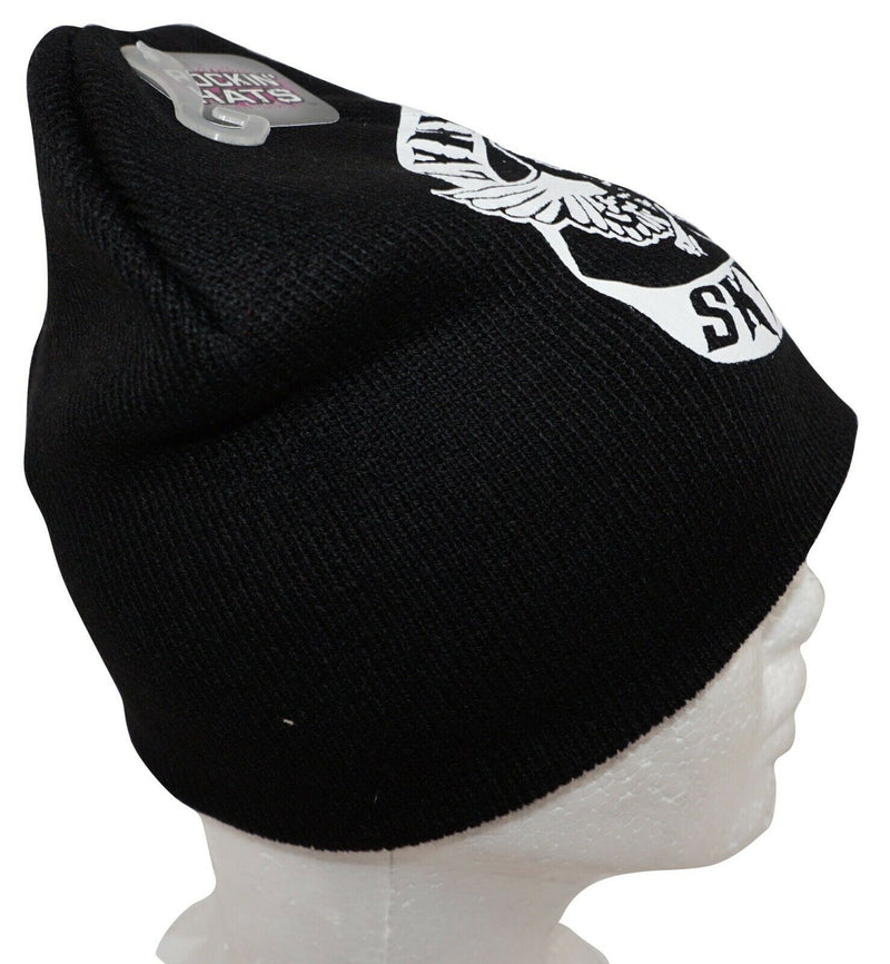 LYNYRD SKYNYRD ROCK BAND - KNIT BEANIE BLACK CAP HAT NEW 2010-EZ Monster Deals