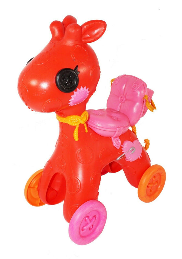 LALALOOPSY LITTLE ROLLING ROCKING HORSE - TOY VEHICLE FIGURE FOR DOLLS USED - EZ Monster Deals