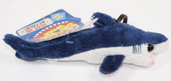 "DISCOVERY SHARK WEEK - MAKO SHARK 7"" PLUSH TOY FIGURE & CLIP-ON 2018 + SOUNDS - EZ Monster Deals"