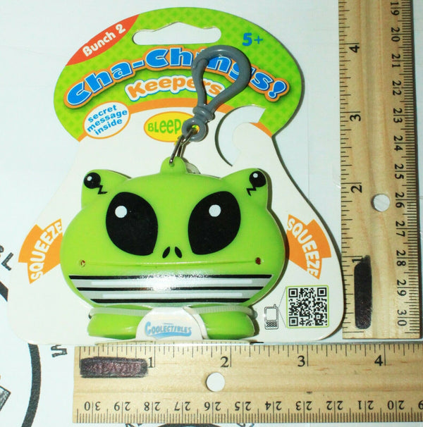BLEEPOP KEEPER CHA-CHING - BUNCH 2 VINYL TOY COLLECTIBLE KEYCHAIN CLIP 2011