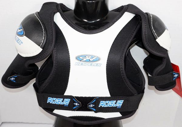 "HESPELER ROGUE RX10 YOUTH MEDIUM - ICE ROLLER HOCKEY SHOULDER PADS 22""-26"" NEW-EZ Monster Deals"