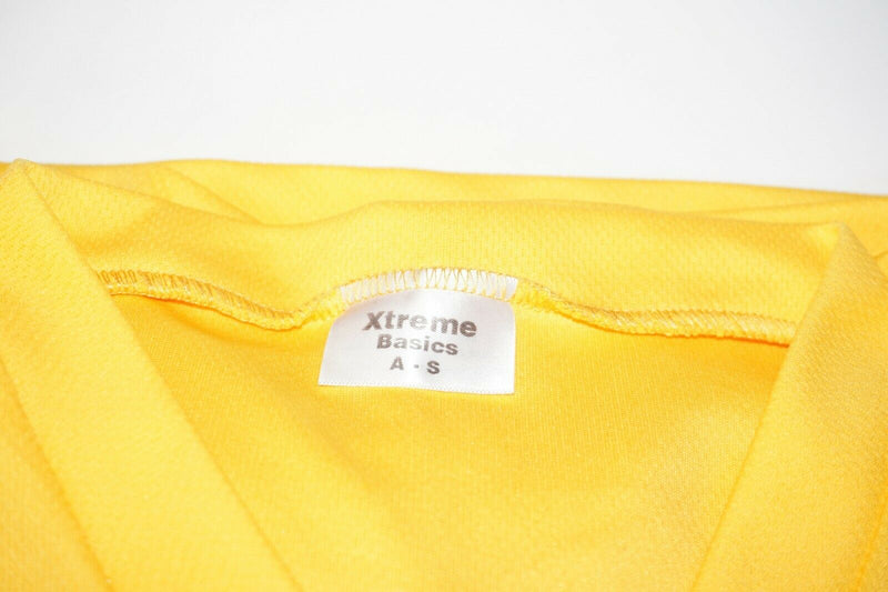 XTREME BASICS SR S BURBANK HOCKEY YELLOW JERSEY