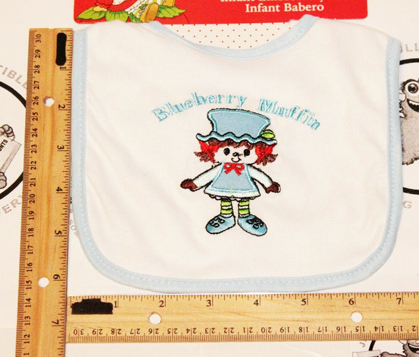 BLUEBERRY MUFFIN FROM STRAWBERRY SHORTCAKE - BABY BIB FEEDING APRON NEW 2011 - EZ Monster Deals