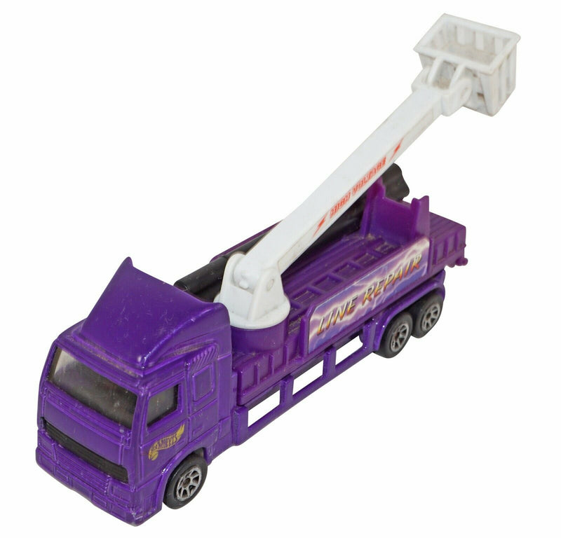 LINE REPAIR HIGH VOLTAGE TRUCK HOT WHEELS - 1:64 TOY DIECAST VEHICLE USED 1996 - EZ Monster Deals