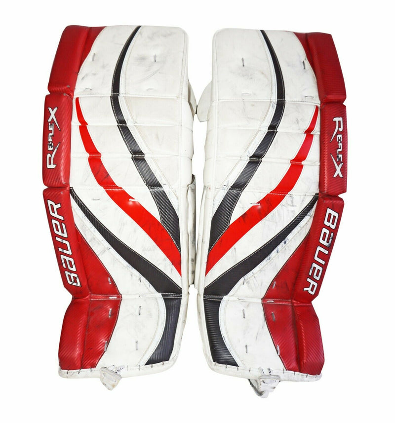 "BAUER REFLEX RX8 INTERMEDIATE GOALIE 32"" +1 LEG PAD -  ICE HOCKEY GOAL GEAR 2010 - EZ Monster Deals"